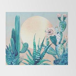 Desert Dawn Throw Blanket