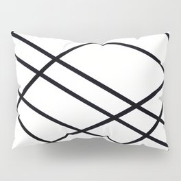 Related Lines Pillow Sham
