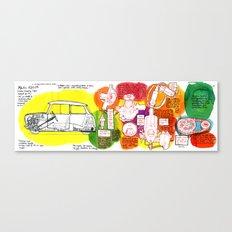 Mini Cooper Classic (ADO15) Canvas Print