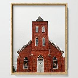A Brick Church Serving Tray
