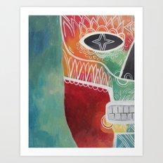 Calavera 1 Art Print