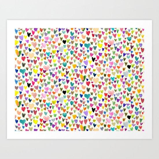 Love the world Art Print