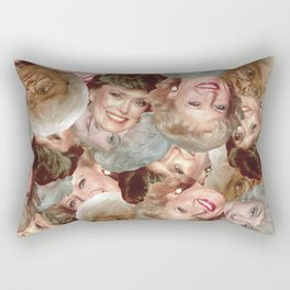 Golden Girls Toss Rectangular Pillow
