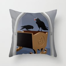 The king's gift Throw Pillow