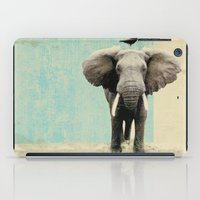 minimalist iPad Cases featuring friends for life  by Vin Zzep