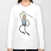 knight Long Sleeve T-shirts featuring Knight by ErDavid