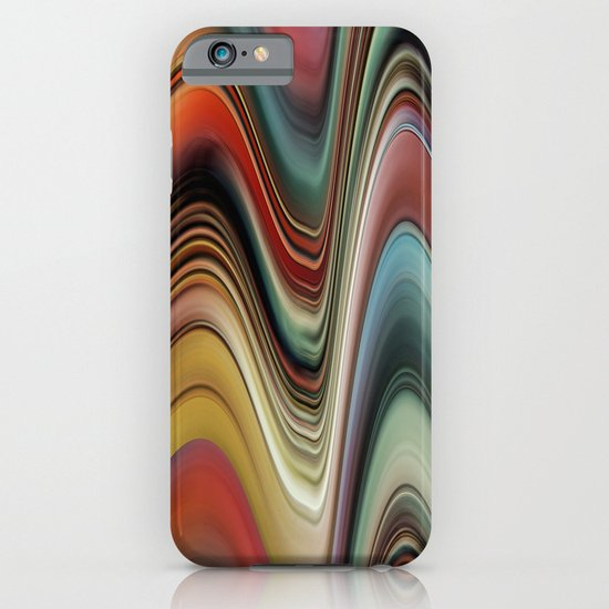 Rainbow Swirl iPhone & iPod Case