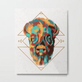 Southwest Buffalo Metal Print
