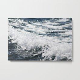 Crashing Ocean Wave Metal Print