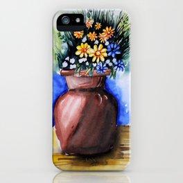wash flower iPhone Case