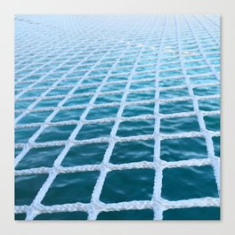 Catamaran net Canvas Print