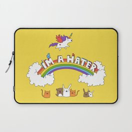 I'm A Hater Laptop Sleeve