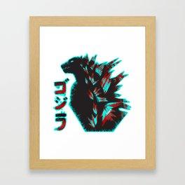 Godzilla - 2 Framed Art Print