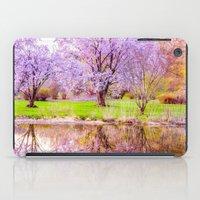 arnold iPad Cases featuring Spring at Arnold Arboretum by LudaNayvelt