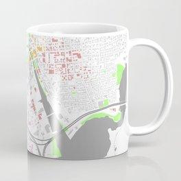 Providence Map Poster Coffee Mug
