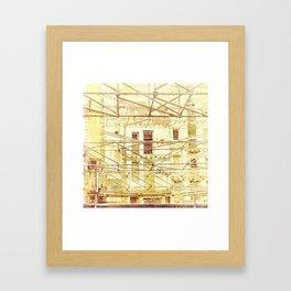 Under Conctruction Framed Art Print