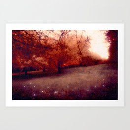 The Orchards Art Print