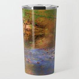 Fantasy Lake Stream Travel Mug