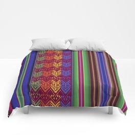 Peruvian Folkart Comforters