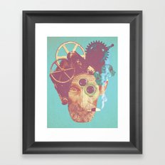 El Mecanico Framed Art Print