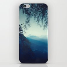 blue morning - vertical tapestry iPhone & iPod Skin