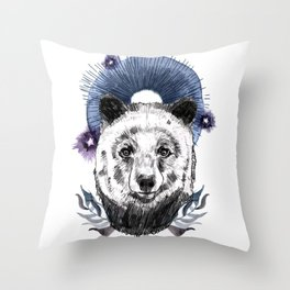 The Bear (Spirit Animal) Throw Pillow