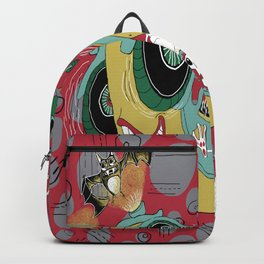 get in the car, we're goin' for a ride! Backpack