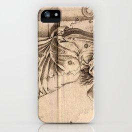 Bayer's Uranometria 1661 - Andromeda iPhone Case