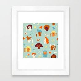 We are women Framed Art Print