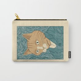 Cat Gogh Carry-All Pouch