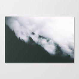 Forest Fog XIII Canvas Print