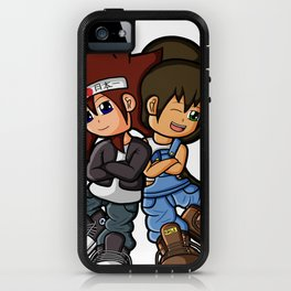 Uncle and Niece 2015 iPhone Case