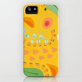 Yellow sunshine darling | Home decor | Happy art iPhone Case
