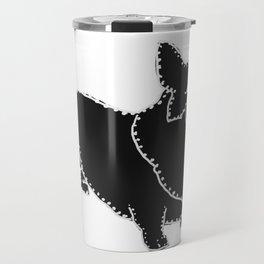 I have Connected the Pembroke Welsh Corgi Doggy Dots! Travel Mug