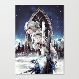 The witcher Ⅵ Canvas Print