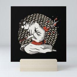 Samurai Harakiri Mini Art Print