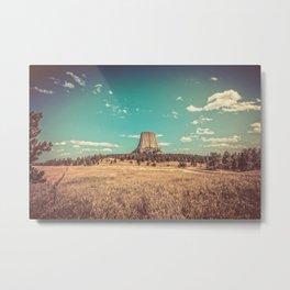 Devil's Tower National Monument Wyoming Metal Print