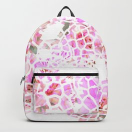 Giraffe Flower Print Backpack
