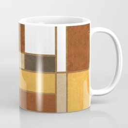 Mondrian Composition 2 - Abstract Expressionism Coffee Mug