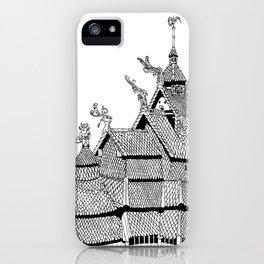 Borgund Stave Church iPhone Case