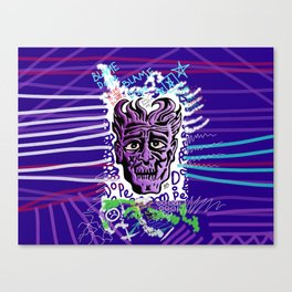 Dope Creates Monsters Remixed Canvas Print