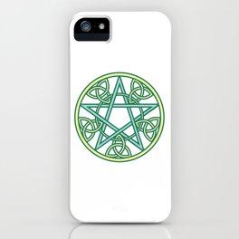 Celtic Pentacle iPhone Case