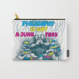 Philosophy is not a junk food Carry-All Pouch