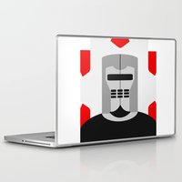knight Laptop & iPad Skins featuring Knight by Vipes