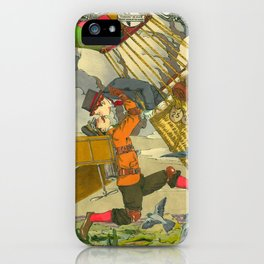 Aerial Kiss iPhone Case