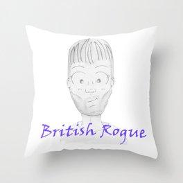 Louis Tomlinson - British Rogue Throw Pillow