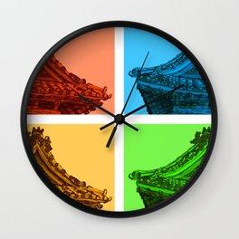 a few reflections on an elegant curve Wall Clock