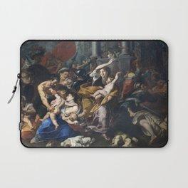 Milan - paint of Massacre of the Innocents from San Eustorgio church Laptop Sleeve