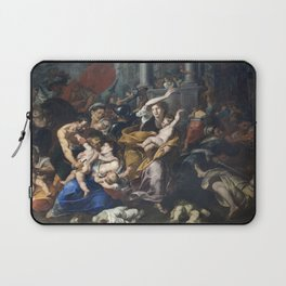 Milan - paint of Massacre of the Innocents from San Eustorgio church Laptop Sleeve