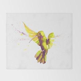 Colibri Throw Blanket